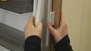 Повреждена резина двери