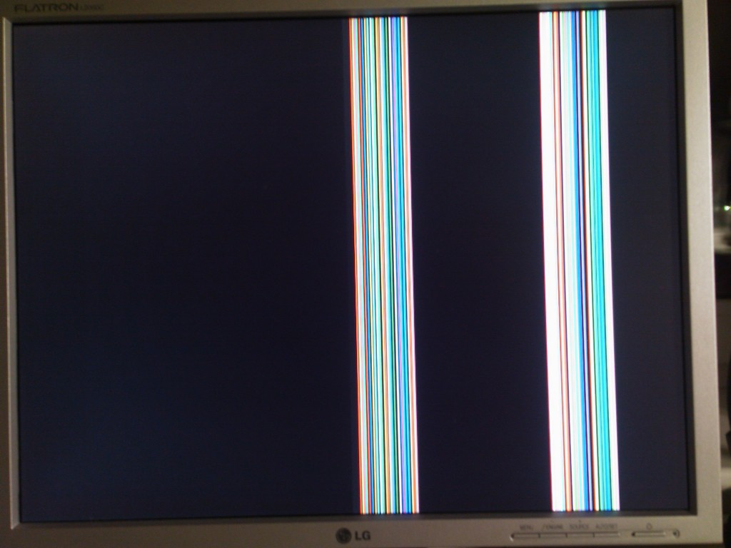 Красный цвет вместо черного на телевизоре